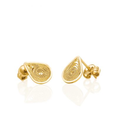 Earrings made of Ethical and Eco-Friendly Gold Jewelry - Fair Mined - Fair Traded - Fair Priced